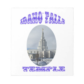 Church of Jesus Christ of Latter Day Saints Temple Notepad