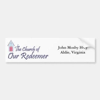 Church of Our Redeemer Bumper Sticker