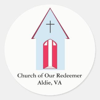 Church of Our Redeemer Circular Sticker