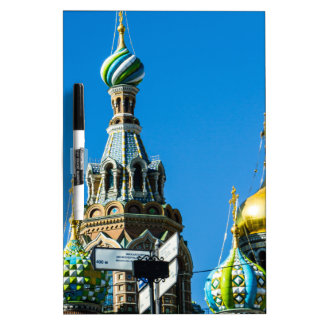 Church of Our Savior on Spilled Blood Dry Erase Board