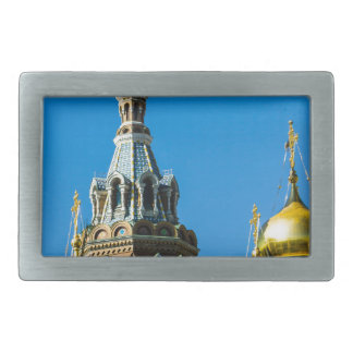 Church of Our Savior on Spilled Blood Rectangular Belt Buckles