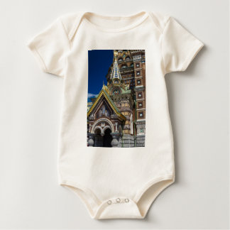 Church of Our Savior on The Spilled Blood Baby Bodysuit