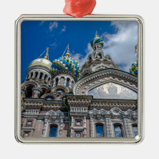 Church of Our Savior on The Spilled Blood Metal Ornament