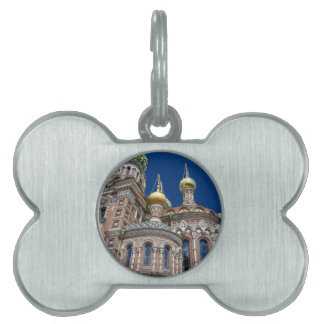 Church of Our Savior on The Spilled Blood Pet Tag