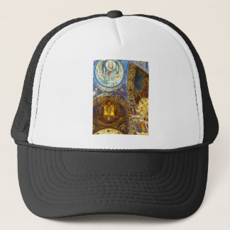 Church of Our Savior on The Spilled Blood Russia Trucker Hat