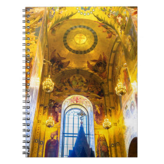 Church of Our Savior on The Spilled Blood Spiral Note Book