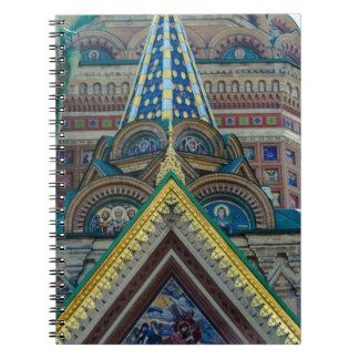 Church of Our Savior on The Spilled Blood Spiral Notebook