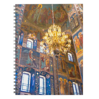 Church of Our Savior on The Spilled Blood Spiral Notebooks