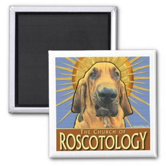 Church of Roscotology (Circle Logo) Square Magnet