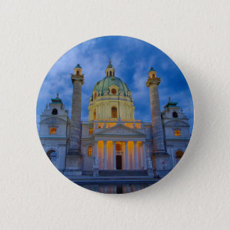 Church of Saint Charles, Vienna 2 Inch Round Button