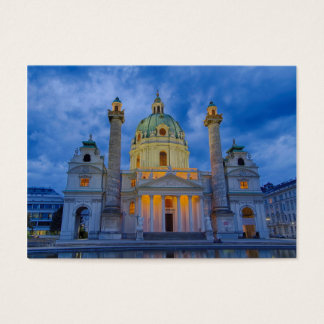 Church of Saint Charles, Vienna Business Card