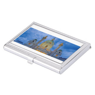 Church of Saint Charles, Vienna Business Card Holder