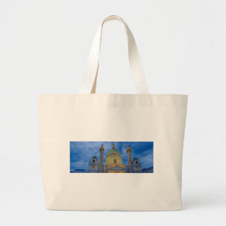Church of Saint Charles, Vienna Large Tote Bag
