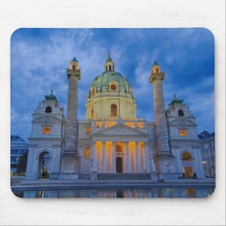 Church of Saint Charles, Vienna Mouse Pad