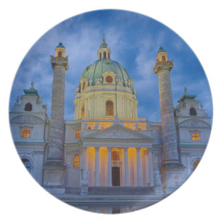Church of Saint Charles, Vienna Plate