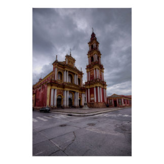 Church Of Saint Francis In Salta Poster