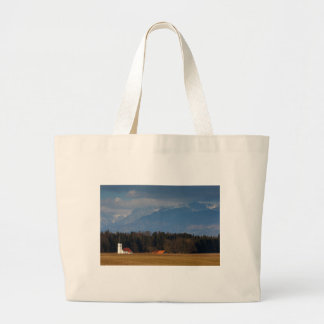 Church of Saint James in the village of Hrase, Slo Large Tote Bag
