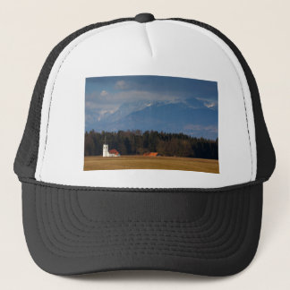Church of Saint James in the village of Hrase, Slo Trucker Hat