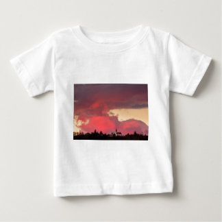 Church of Saint Nicholas at sunset Baby T-Shirt