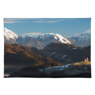 Church of Saint Thomas at sunrise Placemat