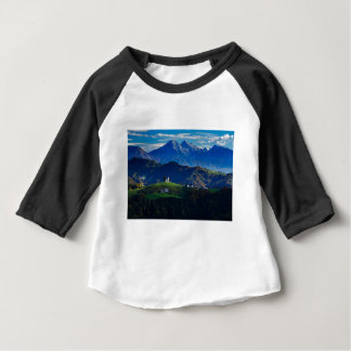 Church of Saint Thomas in the Skofja Loka Hills Baby T-Shirt