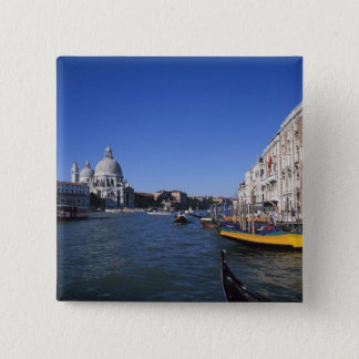 Church of Santa Maria della Salute and Grand 2 Inch Square Button