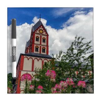Church of St. Bartholomew, Liege, Belgium Dry Erase Board