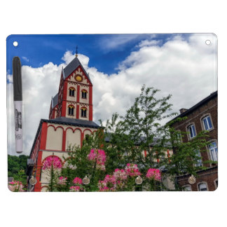 Church of St. Bartholomew, Liege, Belgium Dry Erase Board With Keychain Holder