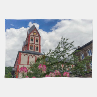 Church of St. Bartholomew, Liege, Belgium Kitchen Towel