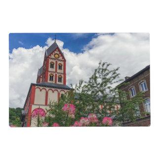Church of St. Bartholomew, Liege, Belgium Laminated Place Mat