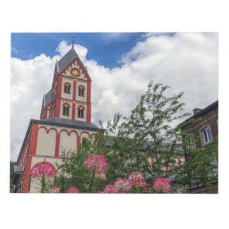 Church of St. Bartholomew, Liege, Belgium Notepad