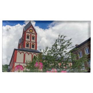 Church of St. Bartholomew, Liege, Belgium Place Card Holder