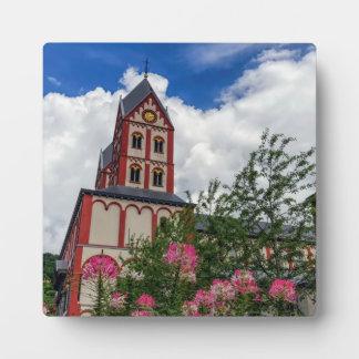 Church of St. Bartholomew, Liege, Belgium Plaque