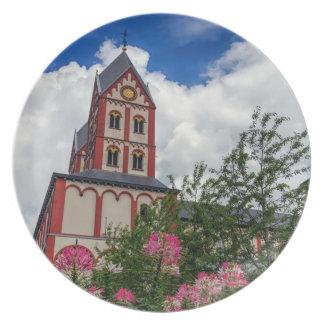 Church of St. Bartholomew, Liege, Belgium Plate