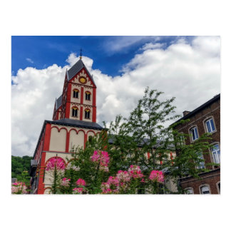 Church of St. Bartholomew, Liege, Belgium Postcard