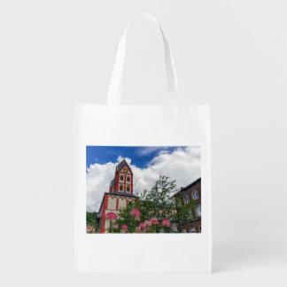 Church of St. Bartholomew, Liege, Belgium Reusable Grocery Bag