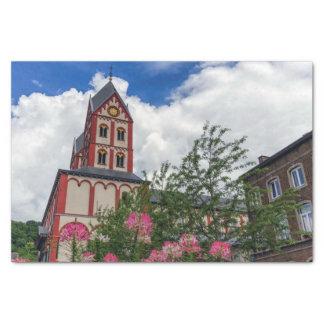 Church of St. Bartholomew, Liege, Belgium Tissue Paper