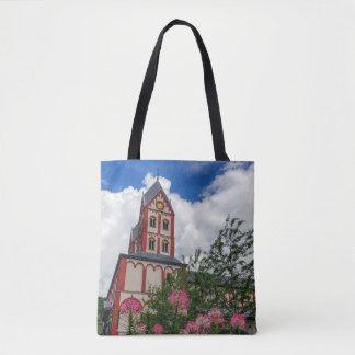 Church of St. Bartholomew, Liege, Belgium Tote Bag