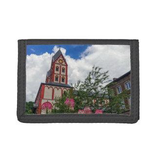 Church of St. Bartholomew, Liege, Belgium Trifold Wallet