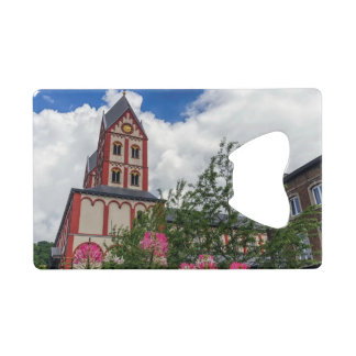 Church of St. Bartholomew, Liege, Belgium Wallet Bottle Opener