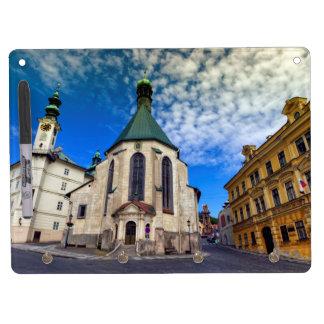 Church of St. Catherine, Banska Stiavnica,Slovakia Dry Erase Board With Keychain Holder