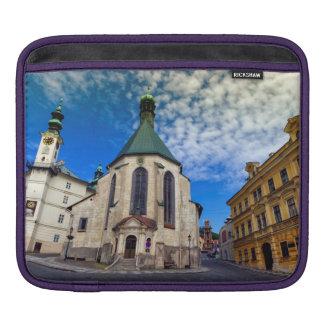 Church of St. Catherine, Banska Stiavnica,Slovakia iPad Sleeve