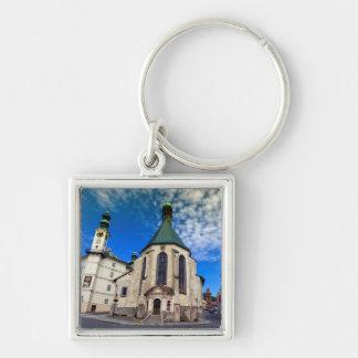 Church of St. Catherine, Banska Stiavnica,Slovakia Keychain