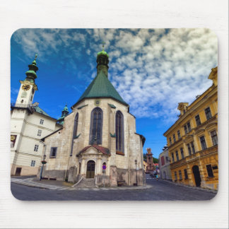 Church of St. Catherine, Banska Stiavnica,Slovakia Mouse Pad