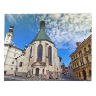 Church of St. Catherine, Banska Stiavnica,Slovakia Notepad