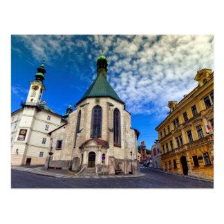Church of St. Catherine, Banska Stiavnica,Slovakia Postcard