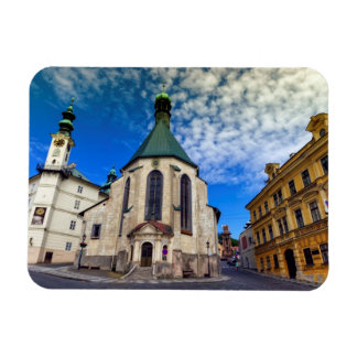 Church of St. Catherine, Banska Stiavnica,Slovakia Rectangular Photo Magnet