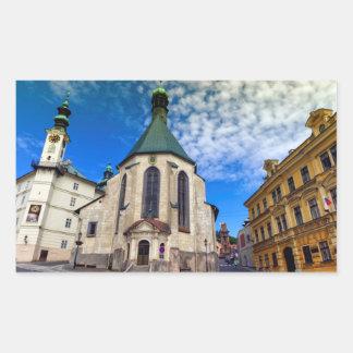 Church of St. Catherine, Banska Stiavnica,Slovakia Sticker