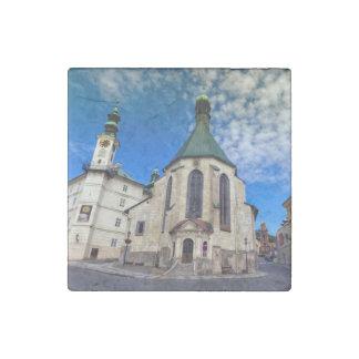 Church of St. Catherine, Banska Stiavnica,Slovakia Stone Magnets