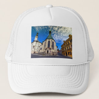 Church of St. Catherine, Banska Stiavnica,Slovakia Trucker Hat